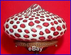 1920s Fratelli Toso antique murano art glass table lamp vtg venini murrine occhi