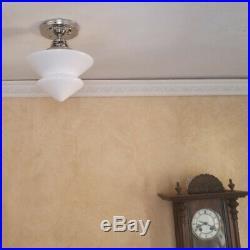 853 Vintage Antique art deco Ceiling Light Lamp Fixture Fixture bath Hall