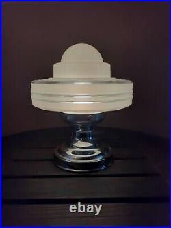 Antique 30's-1950's Art Deco Atomic Space Age Ceiling Light/Lamp Fixture, MCM
