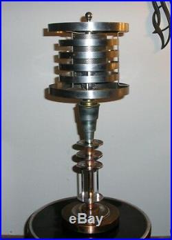 Art Deco Machine Age Lamp c, 1930 by Markel Lamp Corporation, Brooklyn, NY