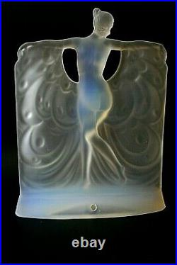 Art Deco Sabino Suzanne Opalescent Glass Lamp