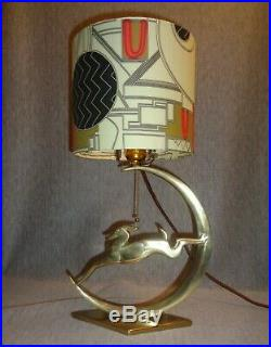 Flash Gordon Art Deco Machine Age 1936 Rocket Ship Lamp