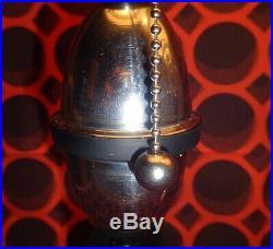 Flash Gordon Rocket Ship Lamps Art Deco Machine Age 1930's Vintage Pair