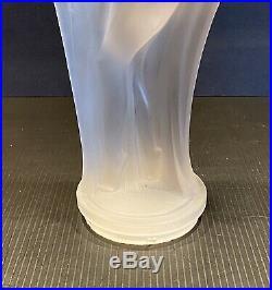 G-130 Aladdin Mantle Electric Lamp Art Deco Glass Figurine Etling Sabino Lalique