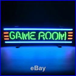 Gameroom Neon Sign Billiards wall lamp wall light Game Rec Family room Glass art