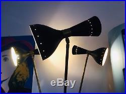 Gorgeous Floor Lamp Design STILNOVO brass lamp arredoluce made in Italy