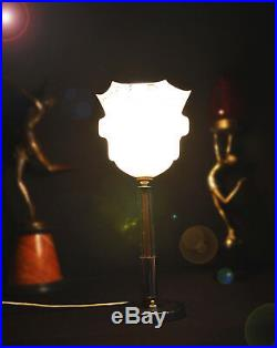 Hay-On-Wye Herefordshire art deco lamp with a strong local historic significance