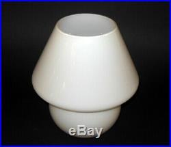 Mid Century Modern MUSHROOM LAMP MURANO Gino Vistosi style Art Glass 9
