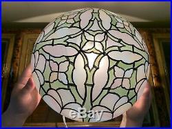 Mushroom Geometric Shade Arts Crafts Mission Desk Lamp 10 Fitter Globe Dome