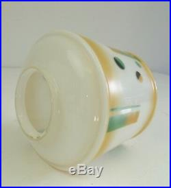 Rare German Bauhaus Light Suprematism Glass Ceiling Lamp 1925 Art Deco