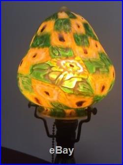 Rare Vintage FRATELLI TOSO Italian Murano Glass Millefiori Lamp