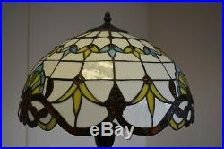 Tiffany Style Floor Lamp Handcrafted Bedroom Living room Stained Glass Art Lamps
