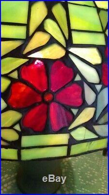 Unique Arts leaded glass shade Handel Tiffany duffner arts crafts slag era