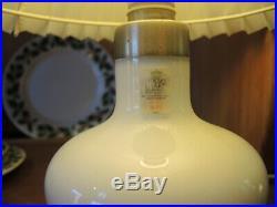 Vintage Danish Holmegaard Art Glass Bookshelf Lamp Christine Sidse Werner 1982