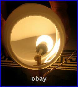 Vintage RARE1970's MONUMENTAL COBRA LAMP by VERTI ITALIAN MURANO ART GLASS