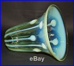 Walsh & Walsh Arts and Crafts Vaseline glass lamp / light shade